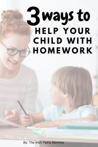 3 ways to help your child with home by the irish twins momma