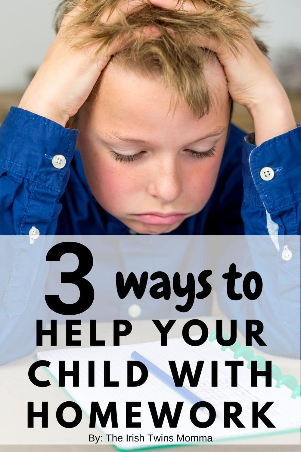 You are an integral part of your child's education and will have a direct impact on the knowledge and skills that he gains. Helping with homework can set them up for success.  via @irishtwinsmom11