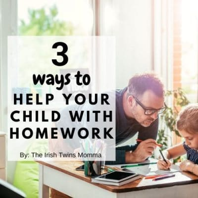 3 Ways to Help Your Child With Homework