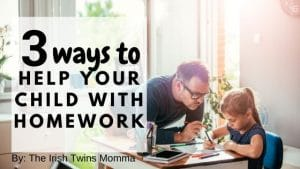 3 ways to help your children with there homework by the irish twins momma