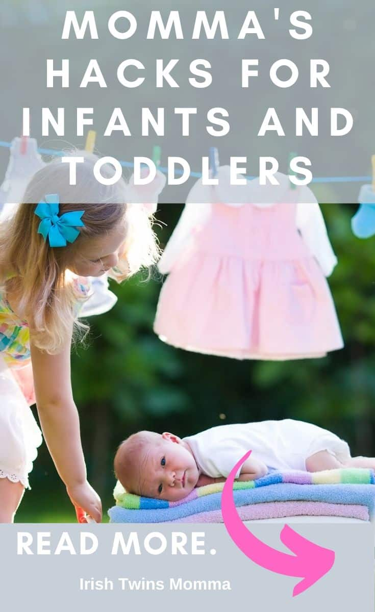The best hacks for infants and toddlers that you wish you knew before having kids. via @irishtwinsmom11