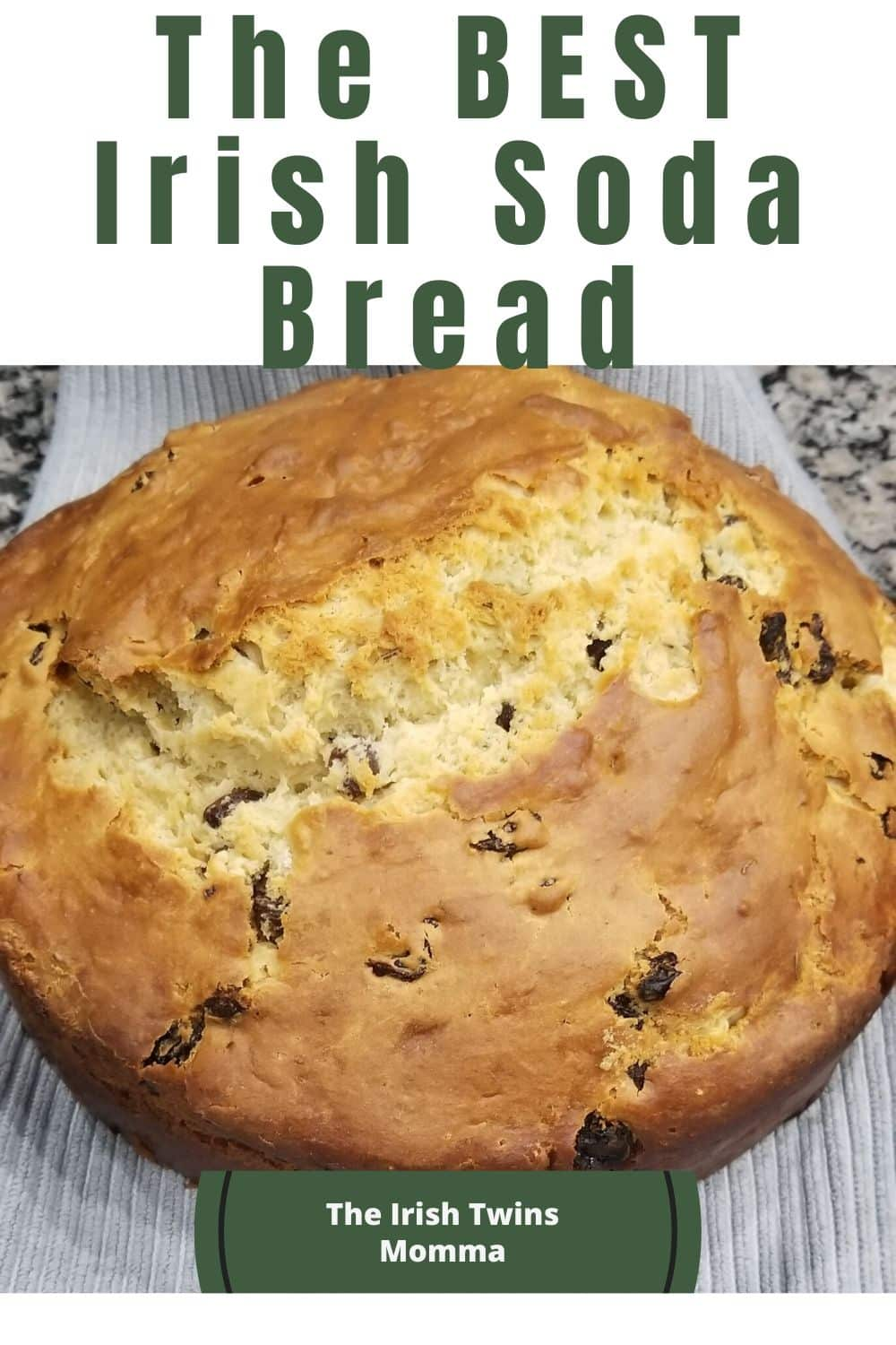 The history of Irish soda bread, as well as classic Irish soda bread and the BEST ever recipe for Irish soda bread to serve with corn beef and cabbage. via @irishtwinsmom11