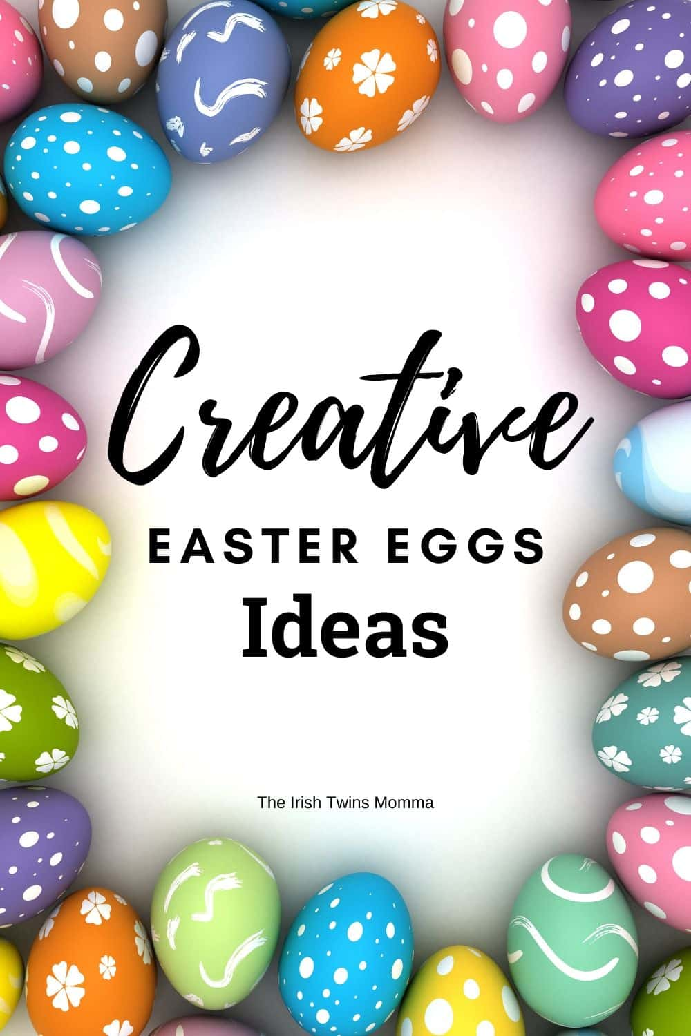 Be creative this year and try something new when dying Easter eggs that will make beautiful art that you can display for others to see. via @irishtwinsmom11