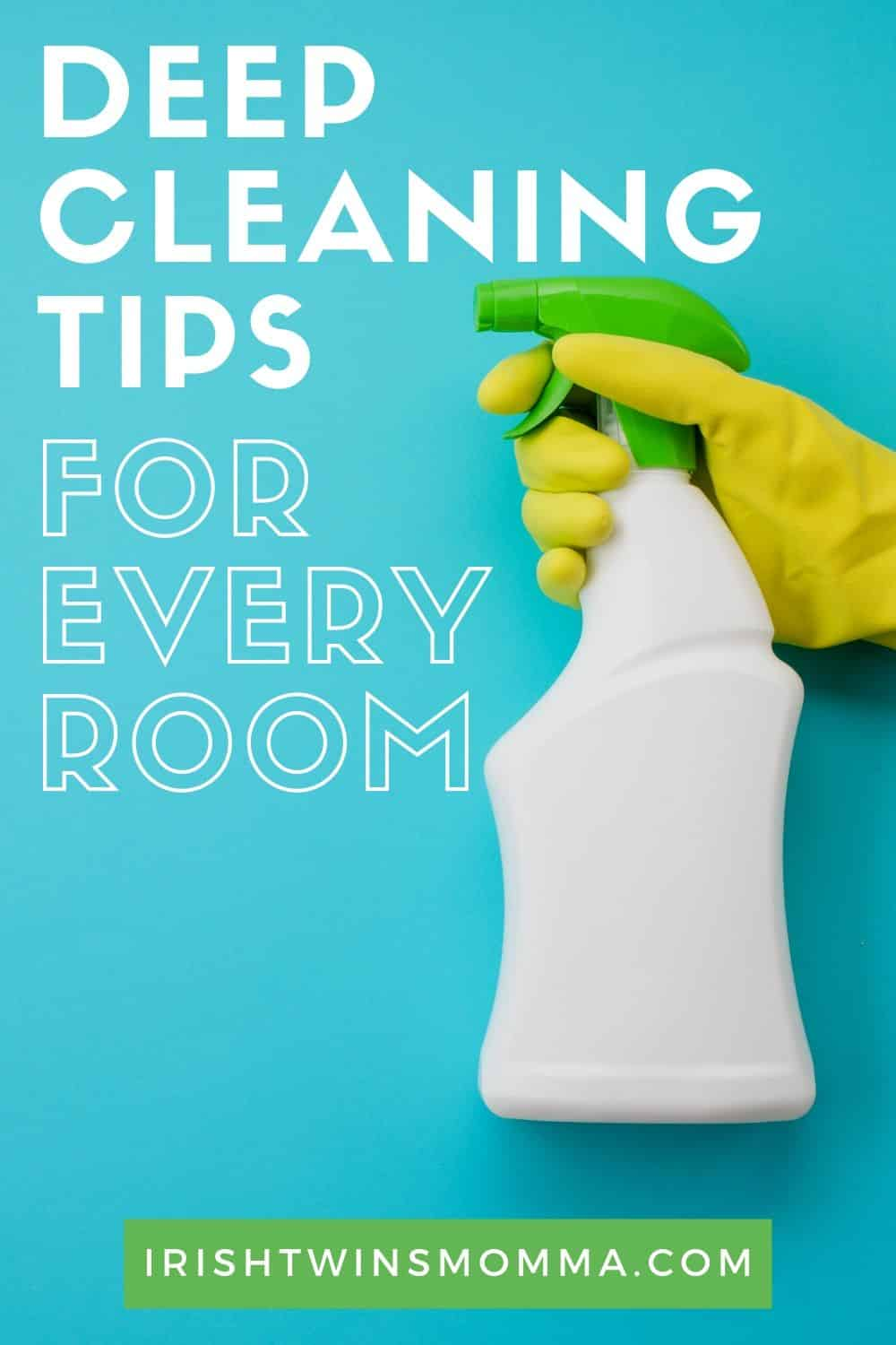 Deep Cleaning Tips for Every Room of the House