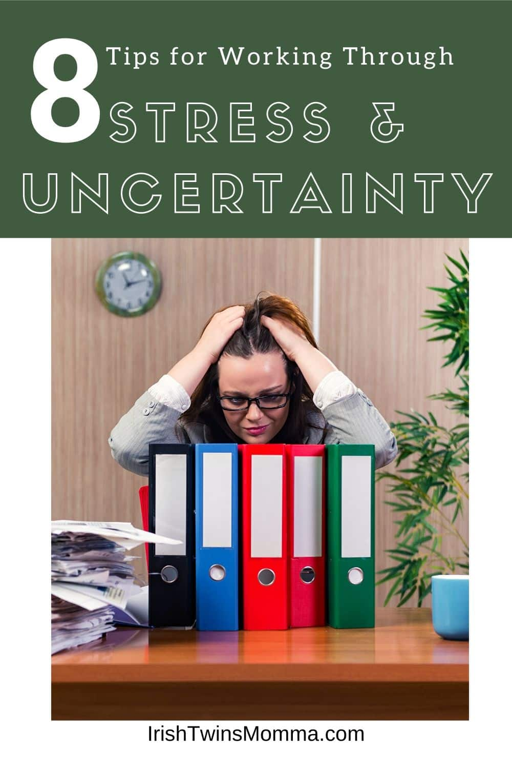 Working through uncertain and stressful times isn't easy. In fact, it can feel almost impossible when your mind is so taken up by fear and anxiety. It is almost impossible to stay focused. via @irishtwinsmom11