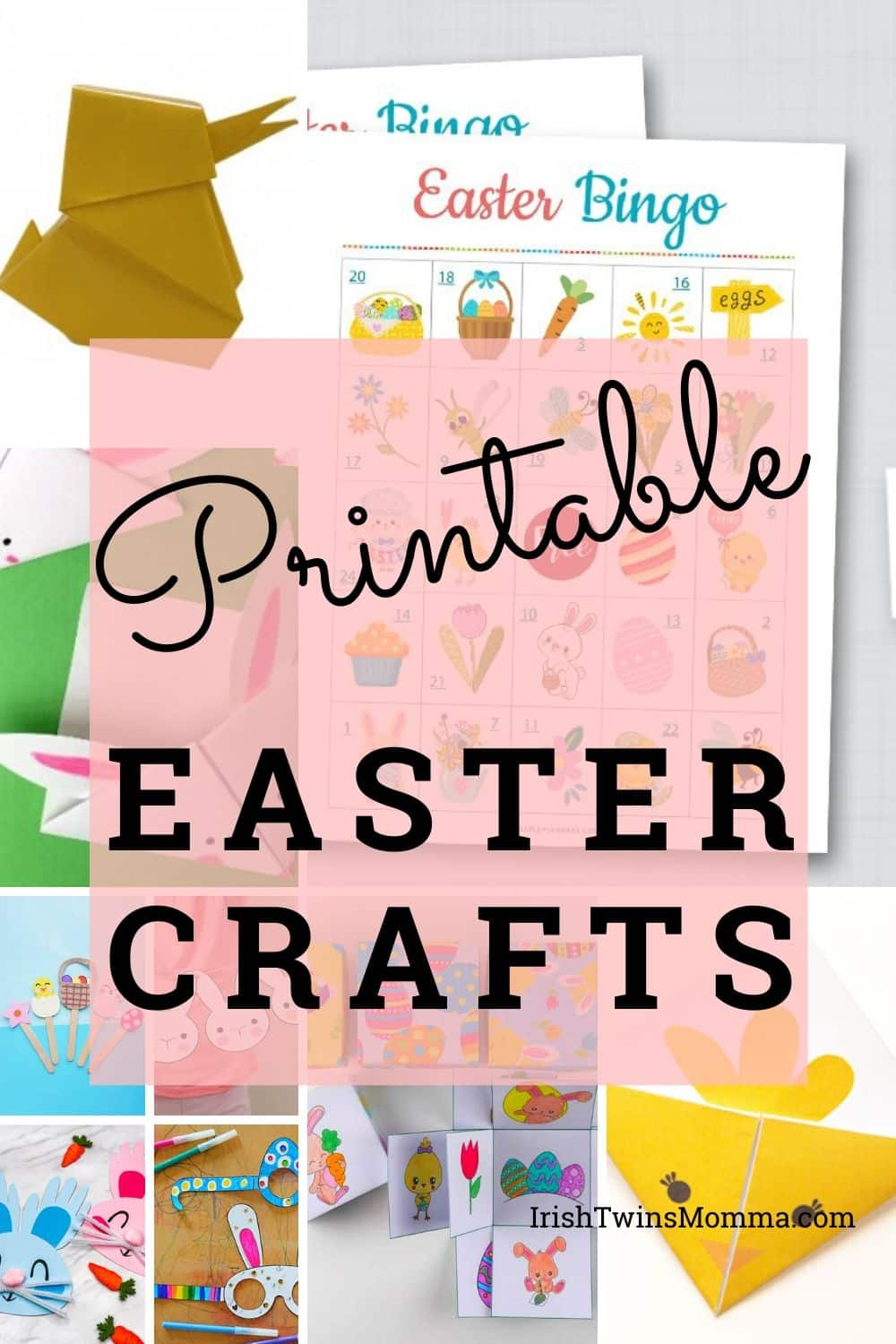 Fun Easter printables that relate back to the Easter bunny and chicks to keep your children entertained and busy during these times. via @irishtwinsmom11
