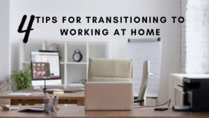 Transitioniong to working from home by the irish twins momma