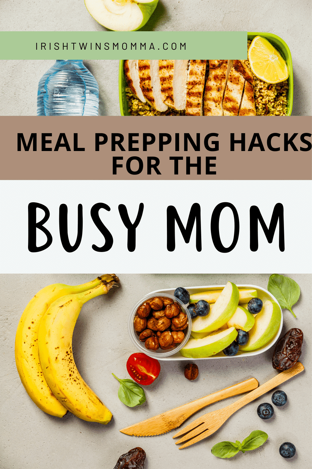 One of the best organization hacks I've discovered is the art of meal prepping! Read on to find out more! via @irishtwinsmom11