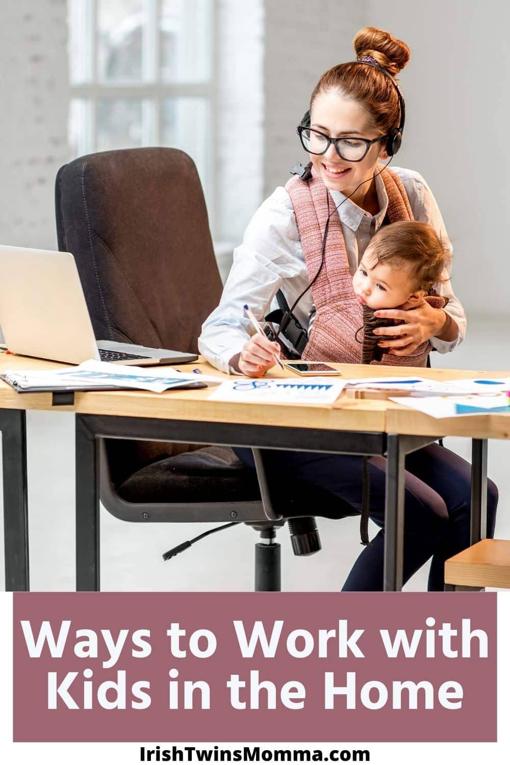 If you're stuck working from home with the kids, there's no doubt it's going to be challenging! Any parent knows that getting anything done with their kids around can be almost impossible sometimes. via @irishtwinsmom11