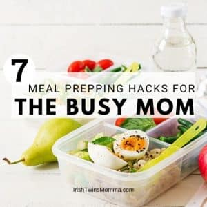 Meal prepping hacks for the busy mom