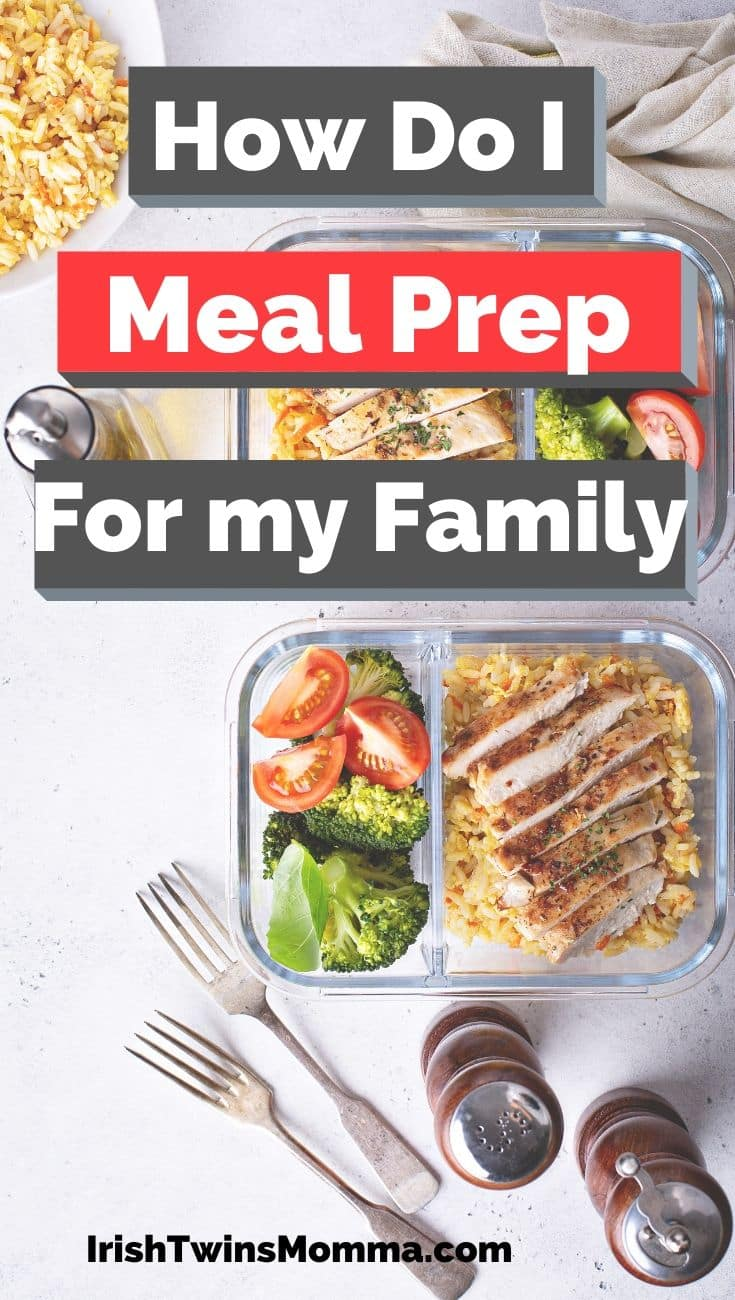 There are so many ways to approach this - it all depends on your family makeup, what your schedule and your needs are like. Below are three key ideas to consider when starting to weekly meal prep, and 7 top hacks for making this work for a family! Enjoy! via @irishtwinsmom11