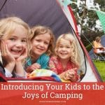 into to kids camping