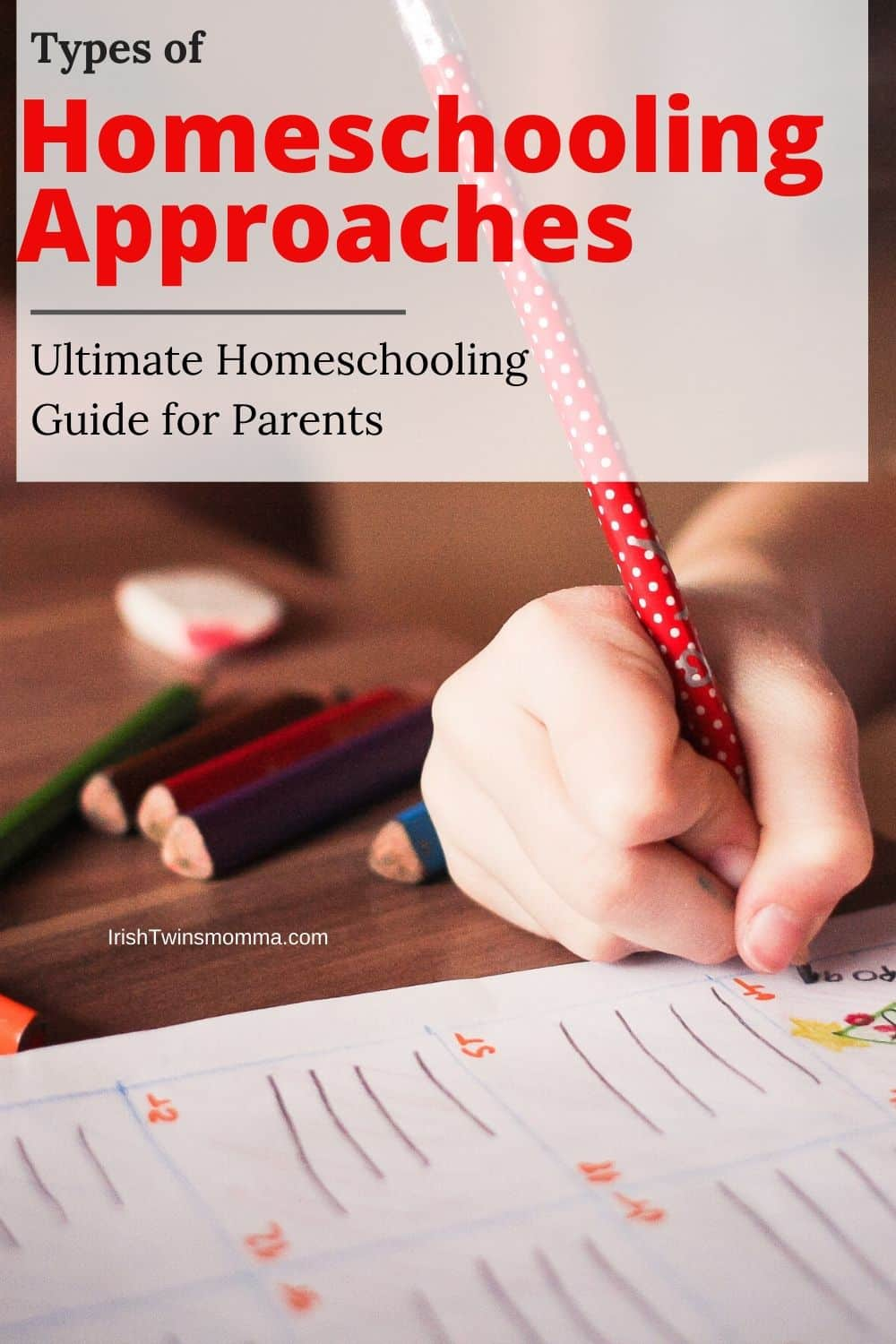 The ultimate guide for homeschooling provides the top 3 approaches to help you succeed in homeschooling. via @irishtwinsmom11