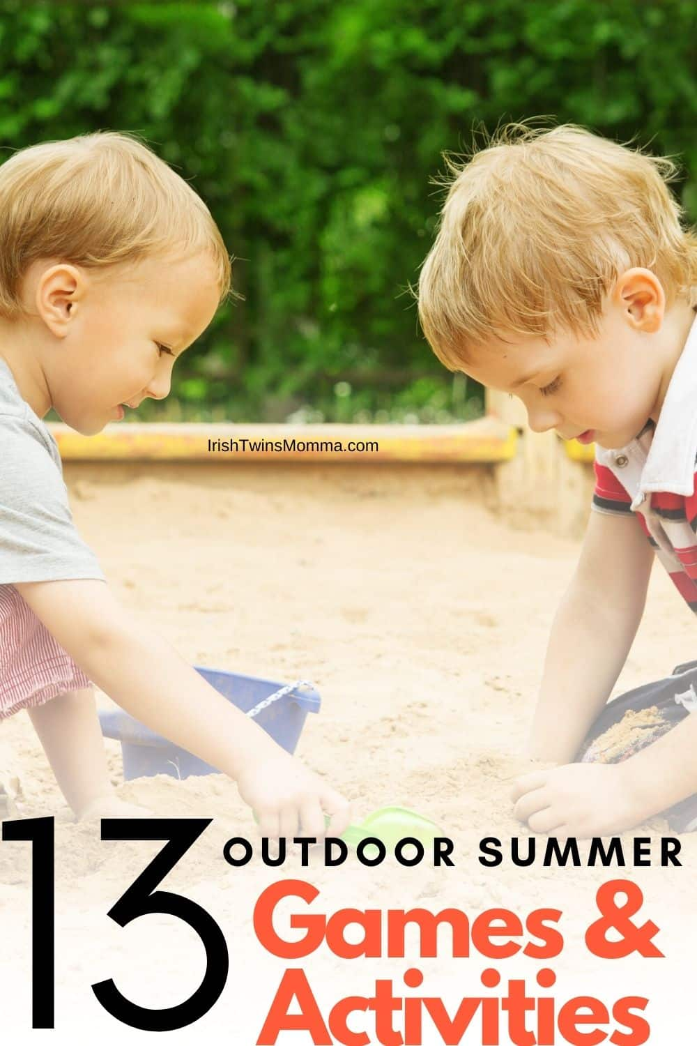 If your kids are like mine, they get super fidgety and restless as the colder months and days wind down. They've spent months mostly cooped up inside -- and while there are many easy and engaging summer activities that they can do indoors, they are ready to also spend more time under the sun. via @irishtwinsmom11
