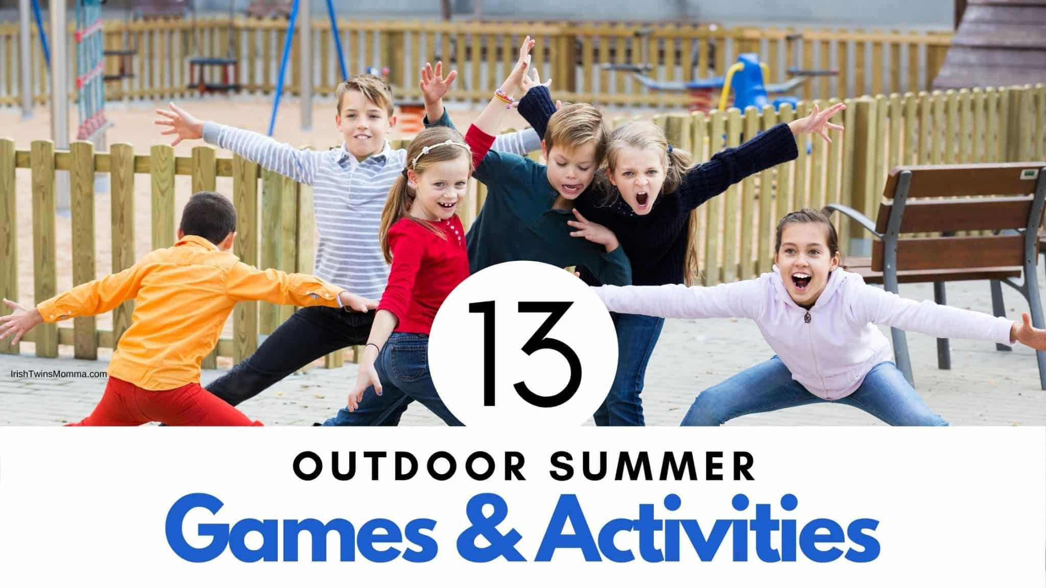 Outdoor Summer Activities