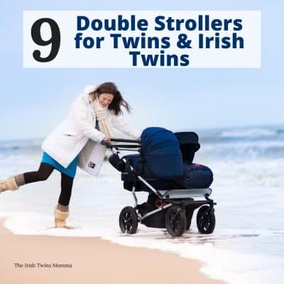Double strollers for twins and irish twins