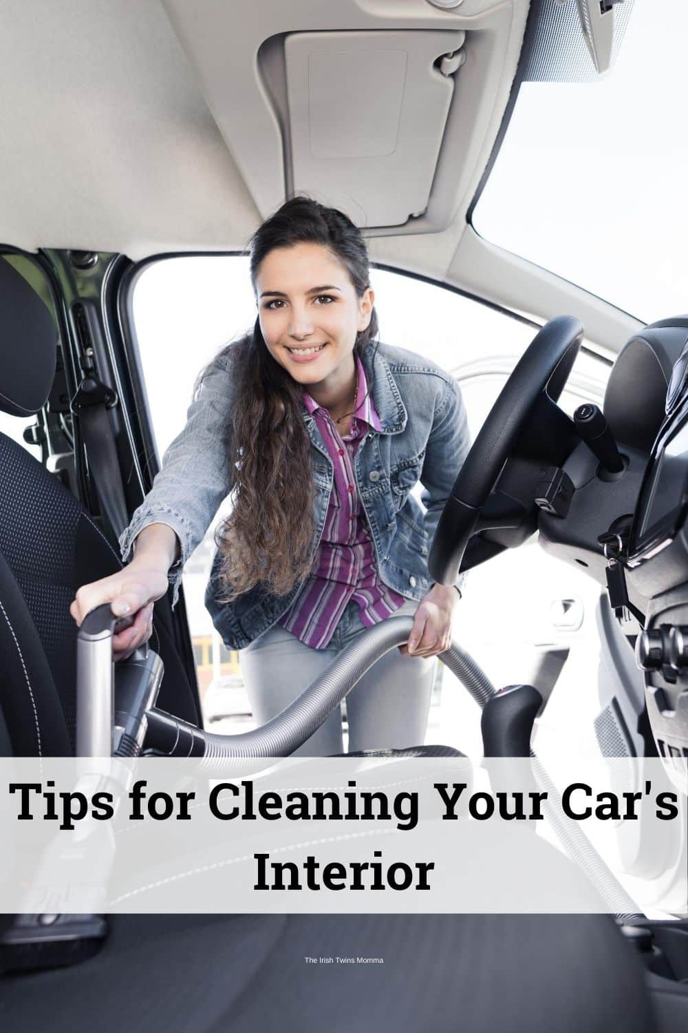 Kids don't really grasp what those cookie crumbs and melting jellybeans can do to your car seats and floor mats. These tips for cleaning your car's interior will help you keep pests and foul odors out of your car. via @irishtwinsmom11