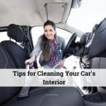 Cleaning your cars interior