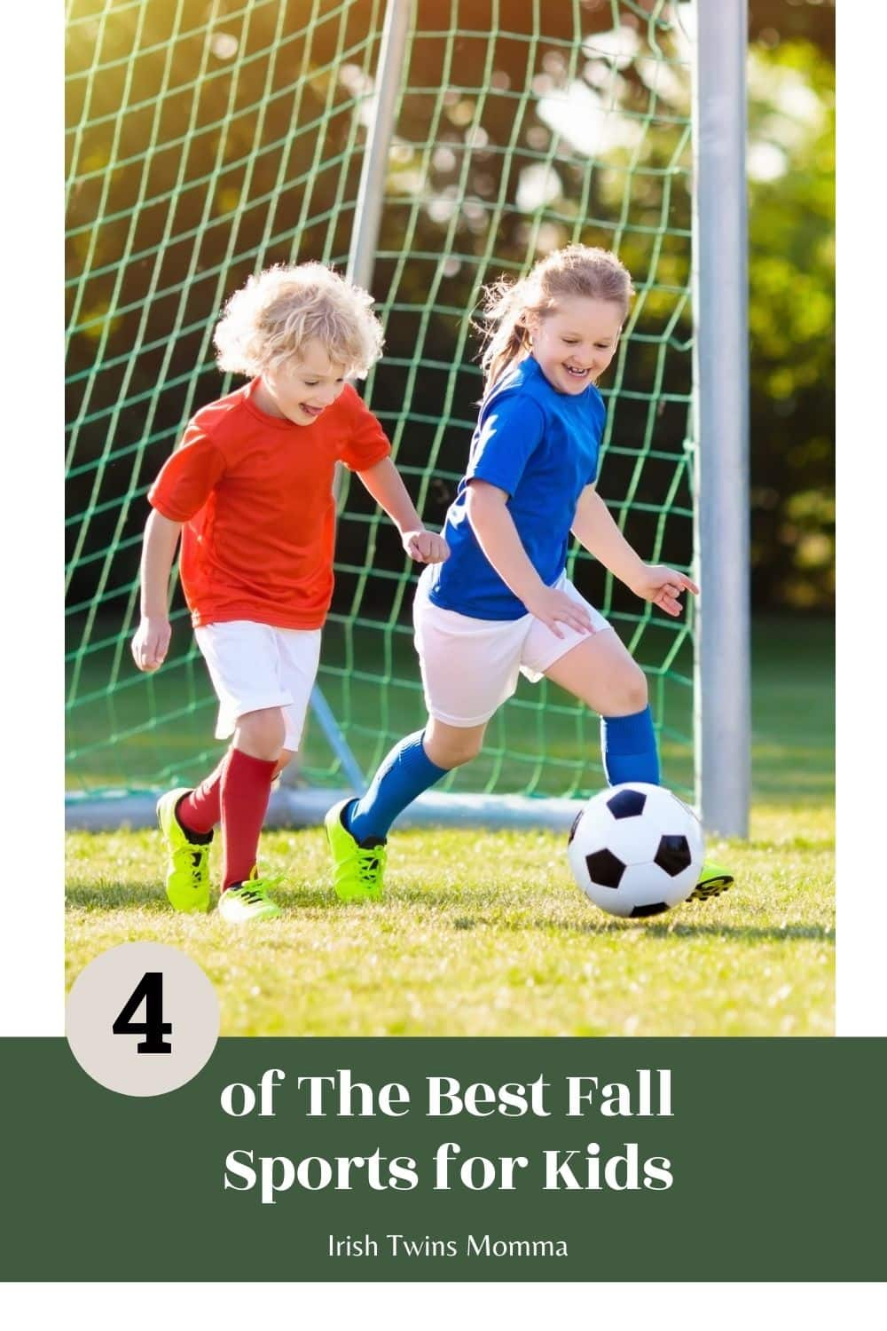 4 of The Best Fall Sports for Kids