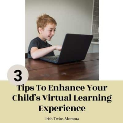 Tips to enhance your child's virtual learning experience.