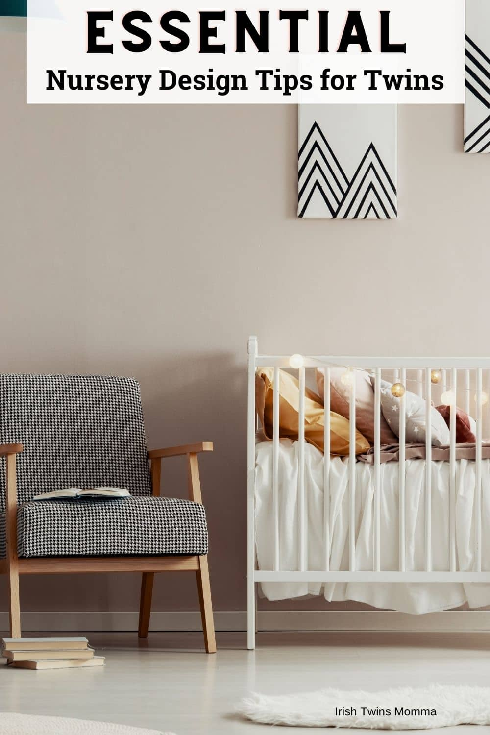 Essential nursery design tips and tricks for twins