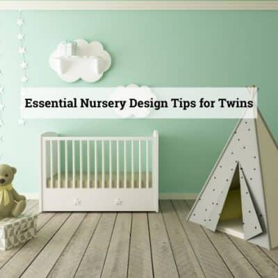 Nursery tips for twins