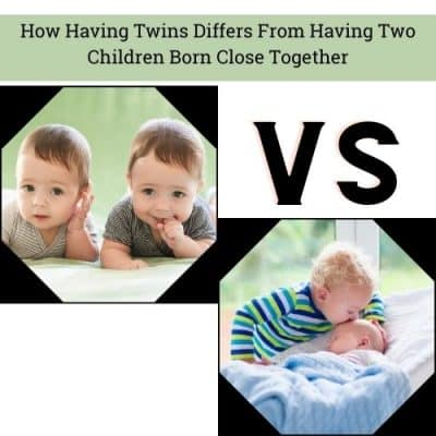 How Having Twins Differs From Having Two Children Born Close Together