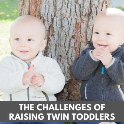 Challenges raising twin toddlers