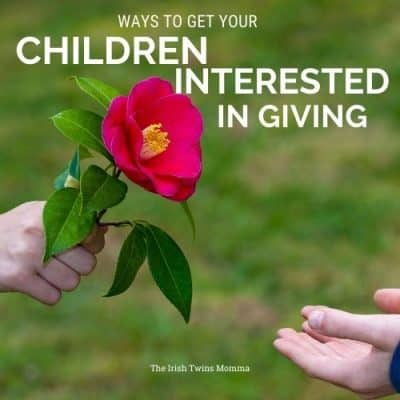 Ways to get your child interested in giving