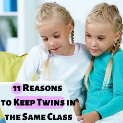 11 Reasons to Keep Twins in the Same Class