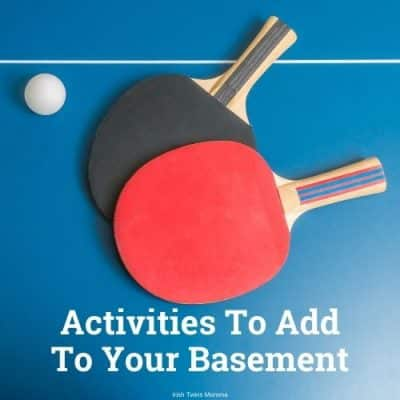 Activities To Add To Your Basement