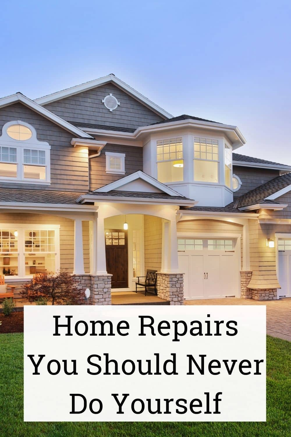 Home Repairs You Should Never Do Yourself