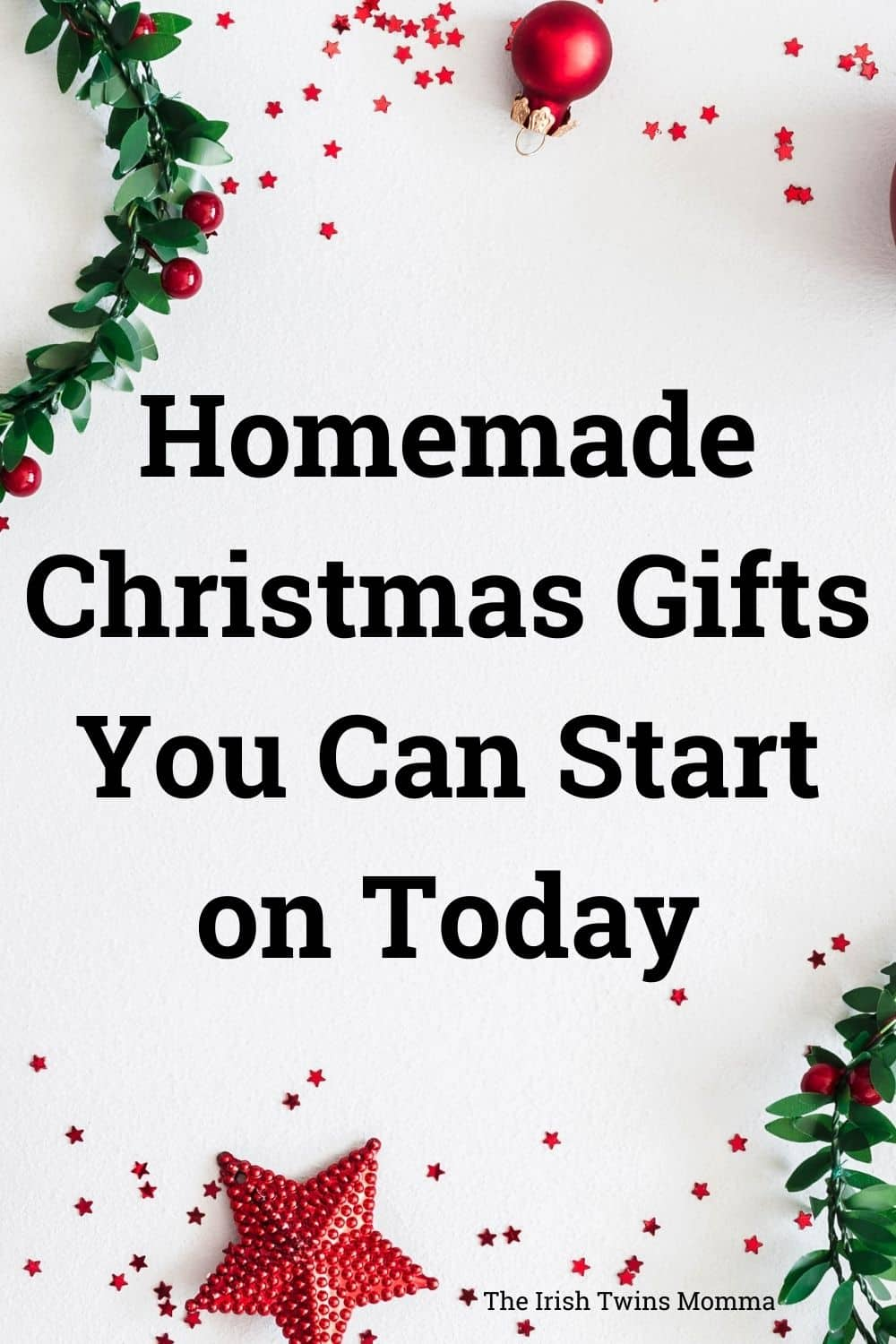 Homemade Christmas Gifts You Can Start on Today