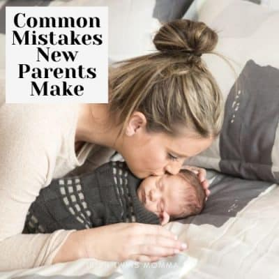 Common Mistakes New Parents Make