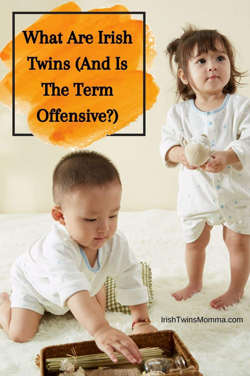 What Are Irish Twins (And Is The Term Offensive)