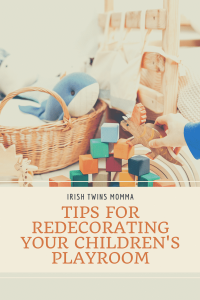 Redecorating your children's playroom