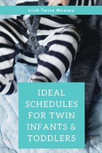 Ideal Schedules for Twin Infants & Toddlers