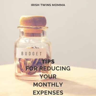 Reducing your monthly budget