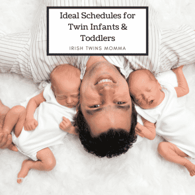 Ideal Schedules for Twin Infants and Toddlers