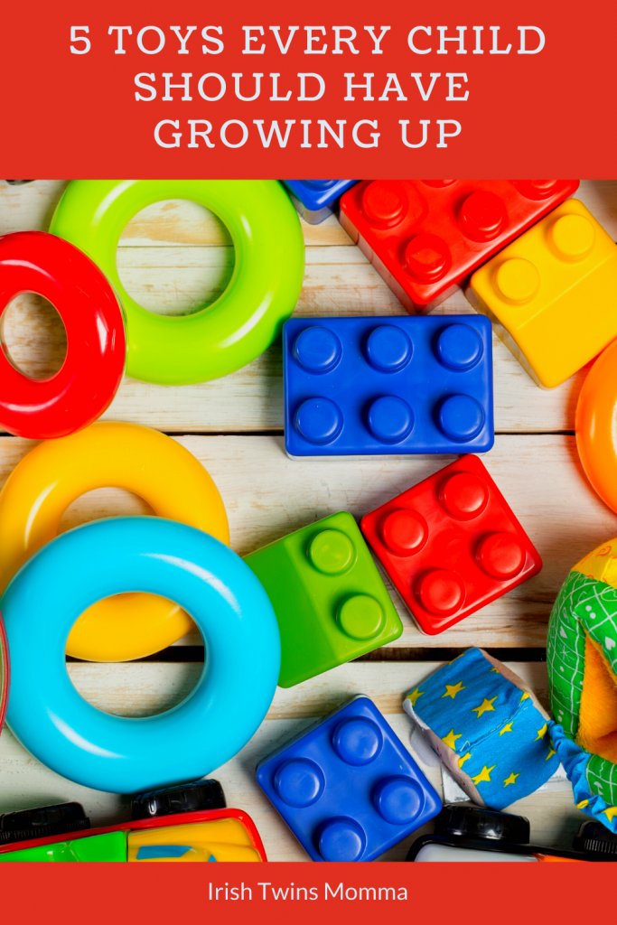 Toys Every Child Should Have Growing Up