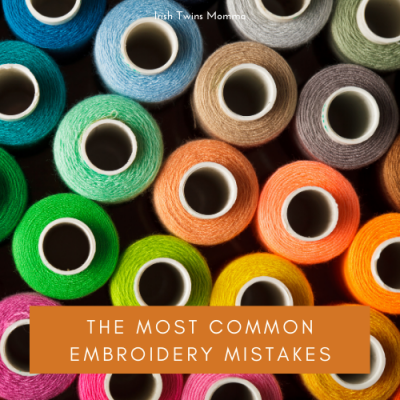 Common Embroidery Mistakes