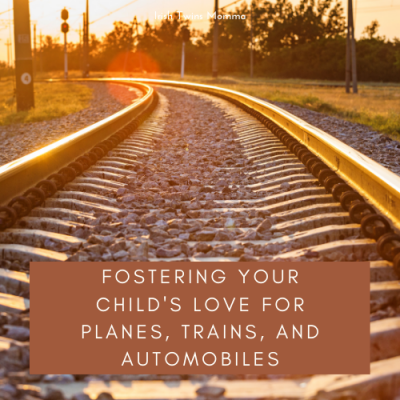Love of trains, planes and automobiles