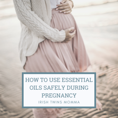 How To Use Essential Oils Safely During Pregnancy