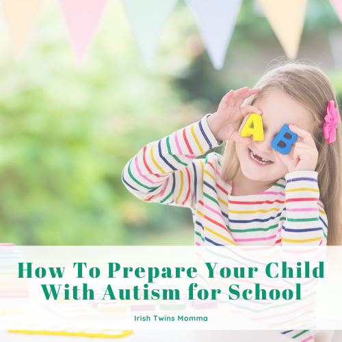 Prepare you child with autism for school